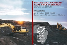 Webinar: Future Scenarios for South African Coal